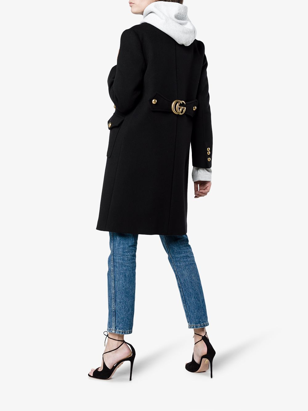 Picture of Gucci | Gg Marmont Coat