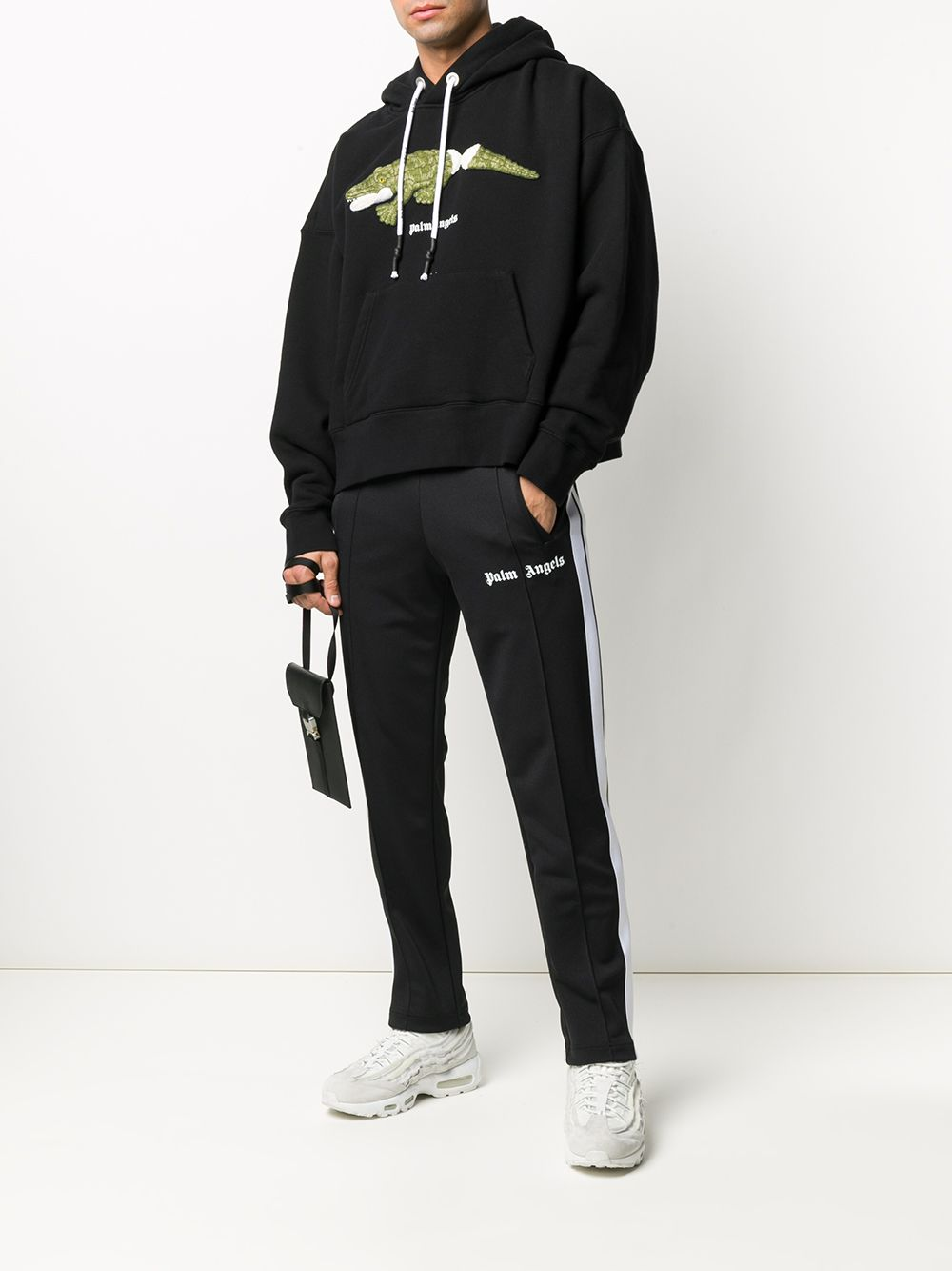 Picture of Palm Angels | Croco Hoody