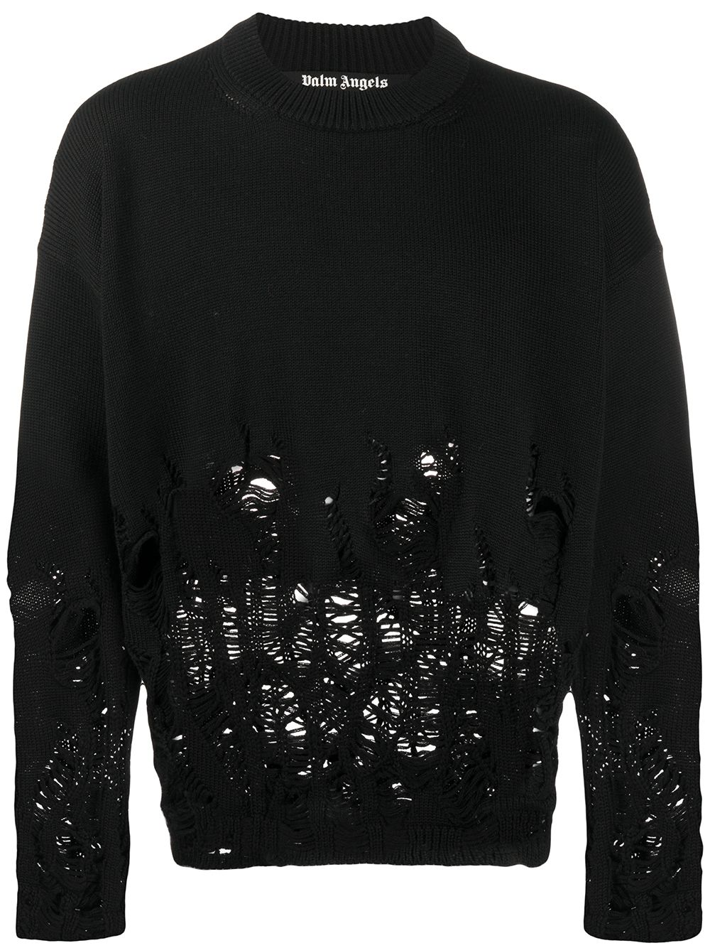 Immagine di Palm Angels | Distressed Flames Sweater