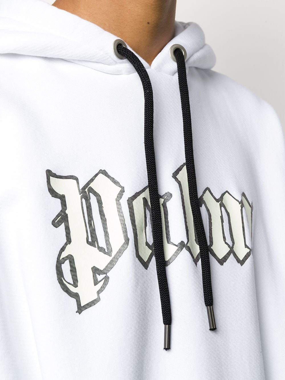 Picture of Palm Angels | Glow In The Dark Over Hoody
