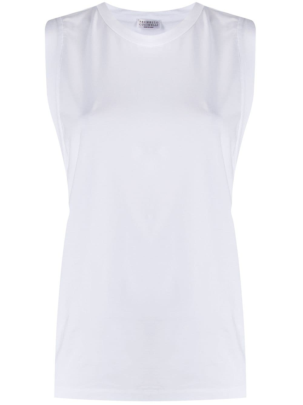 Picture of Brunello Cucinelli | Sleeveless T-Shirt