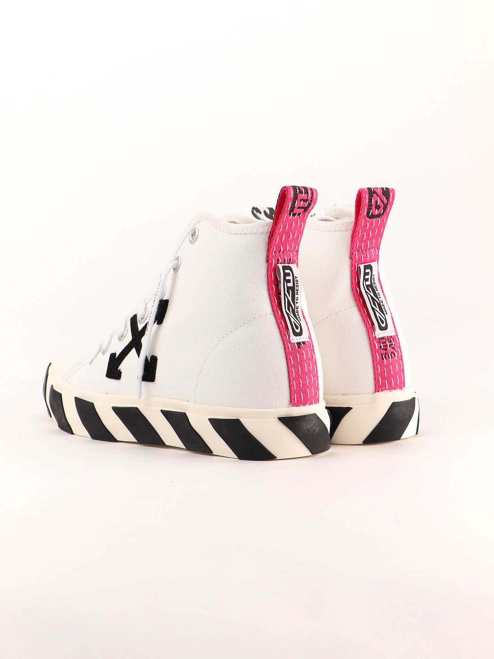 Picture of Off White | Mid Top Vulcanized Sneaker