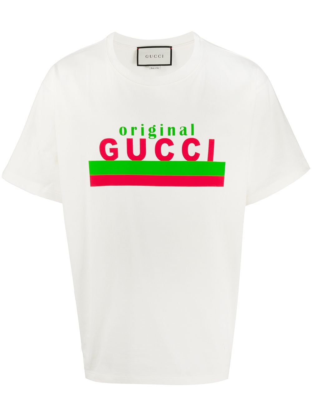 "Picture of Gucci | ""Gucci Original"" Print Oversize T-Shirt"