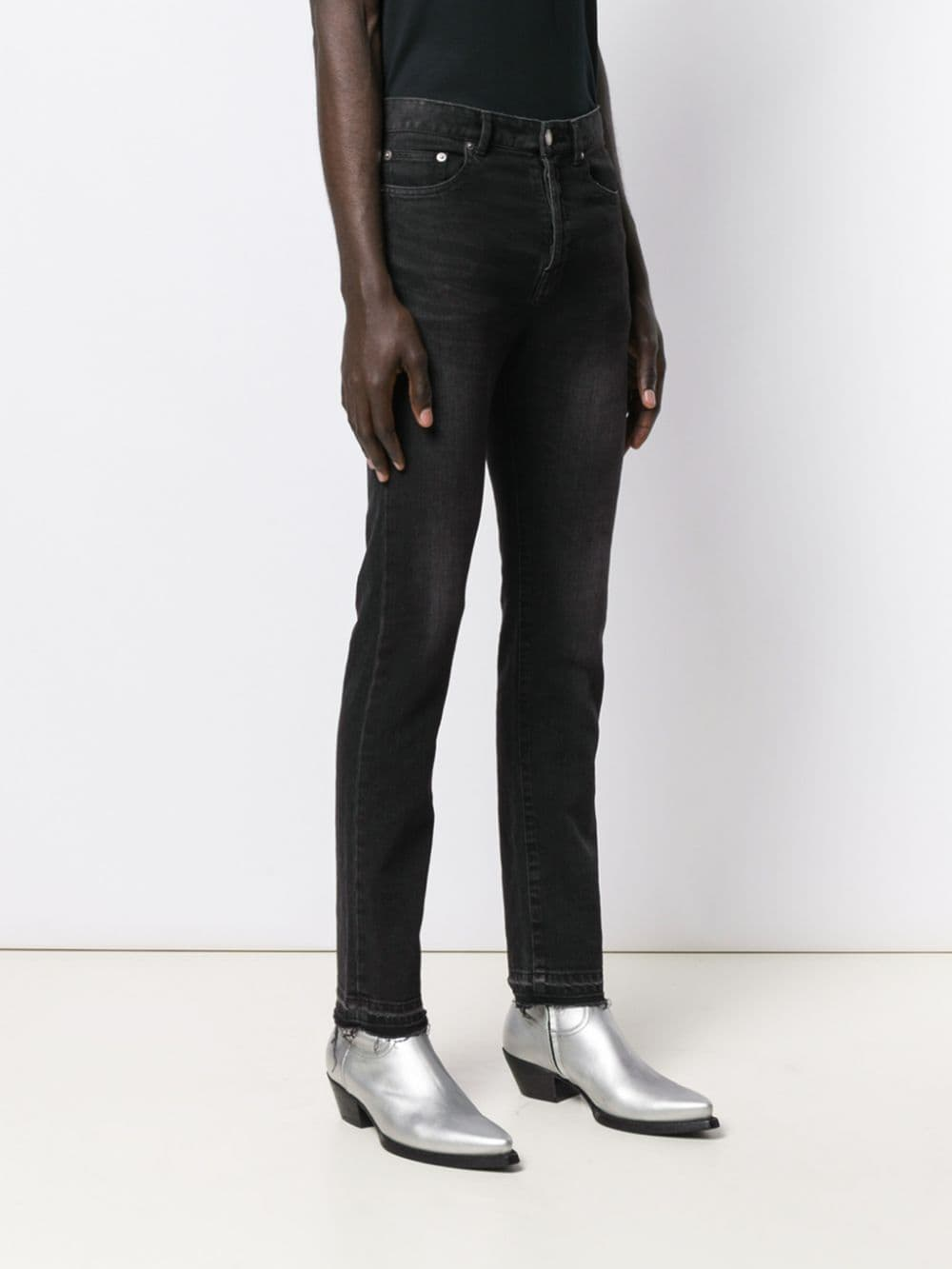 Immagine di Saint Laurent | Straight Jeans Crop