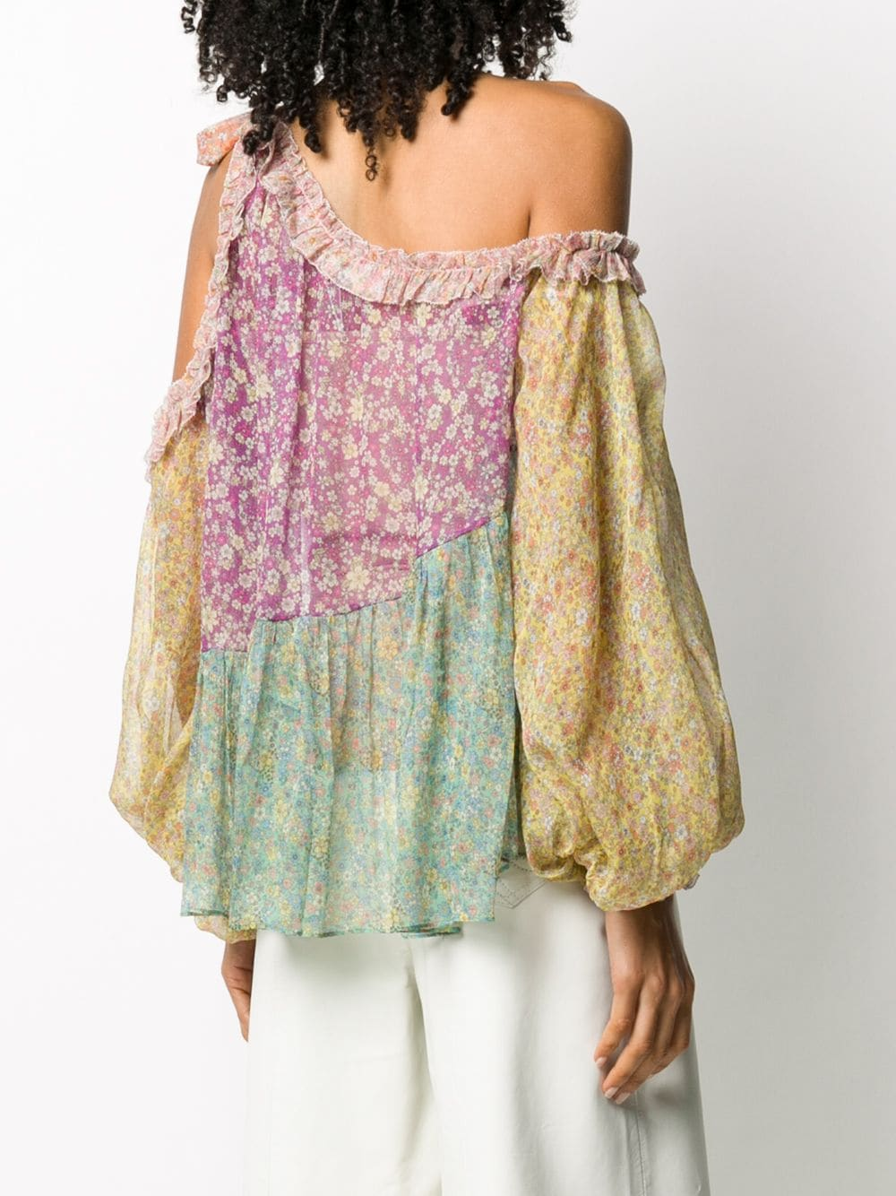 Picture of Zimmermann | Carnaby Frill Swing Top