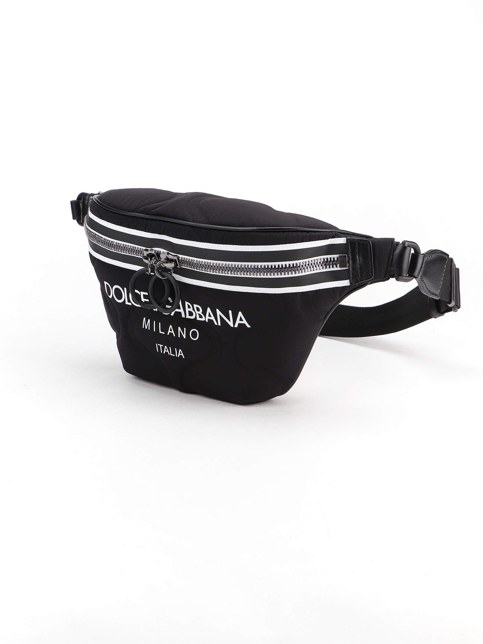 Picture of Dolce & Gabbana | Printed Scuba Belt Bag