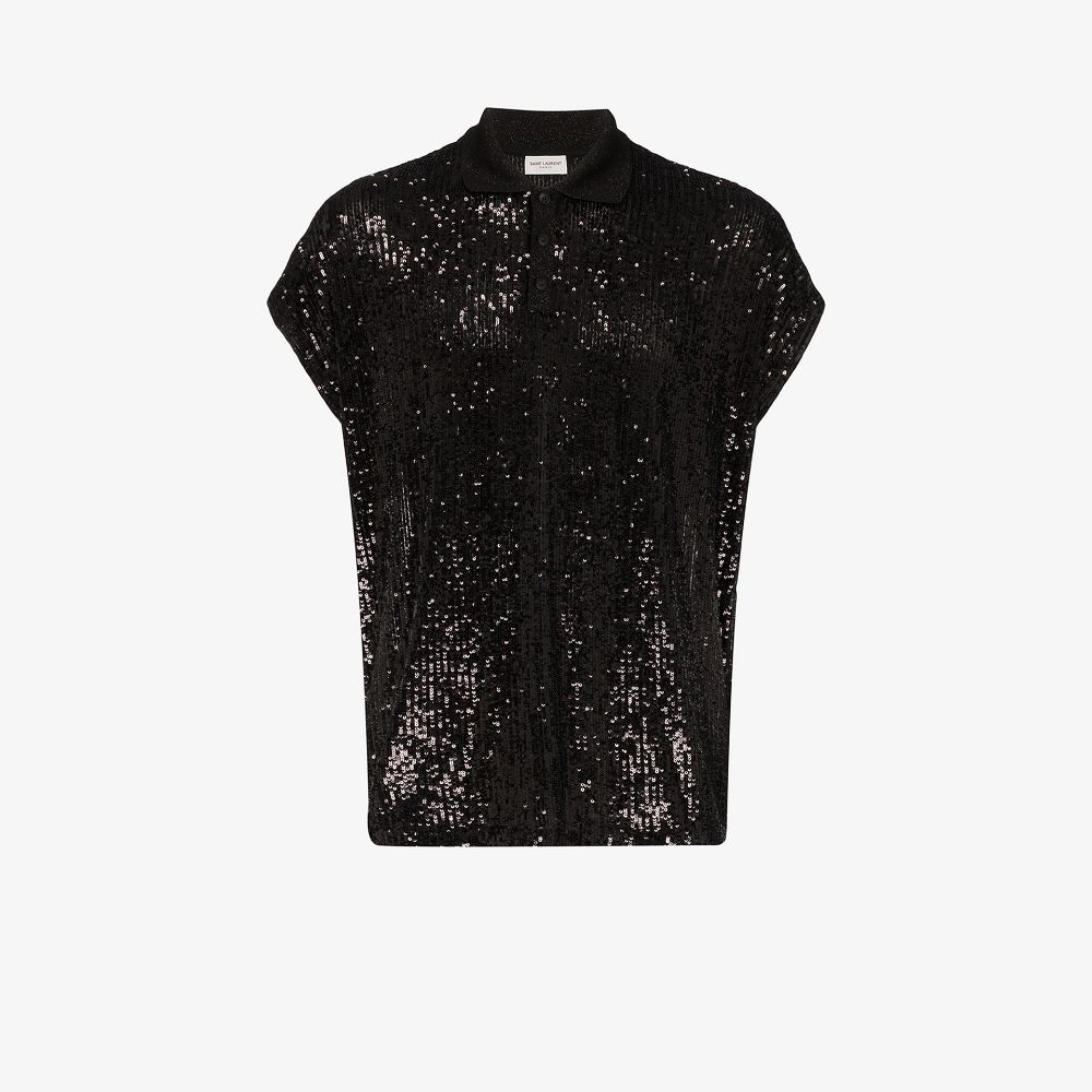 Picture of Saint Laurent | Polo Boxy