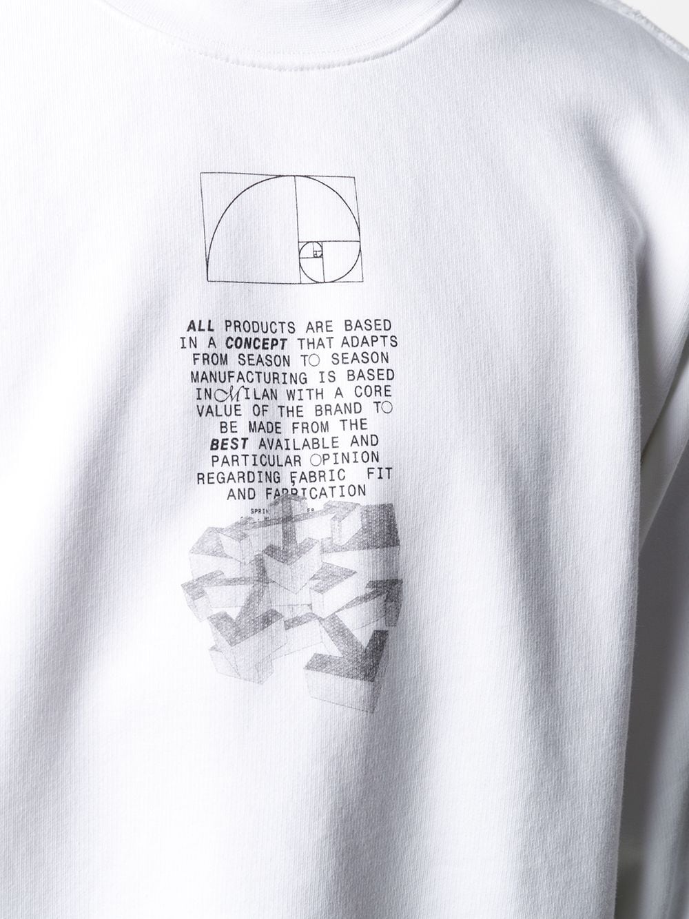 Immagine di Off White | Dripping Arrows Crewneck