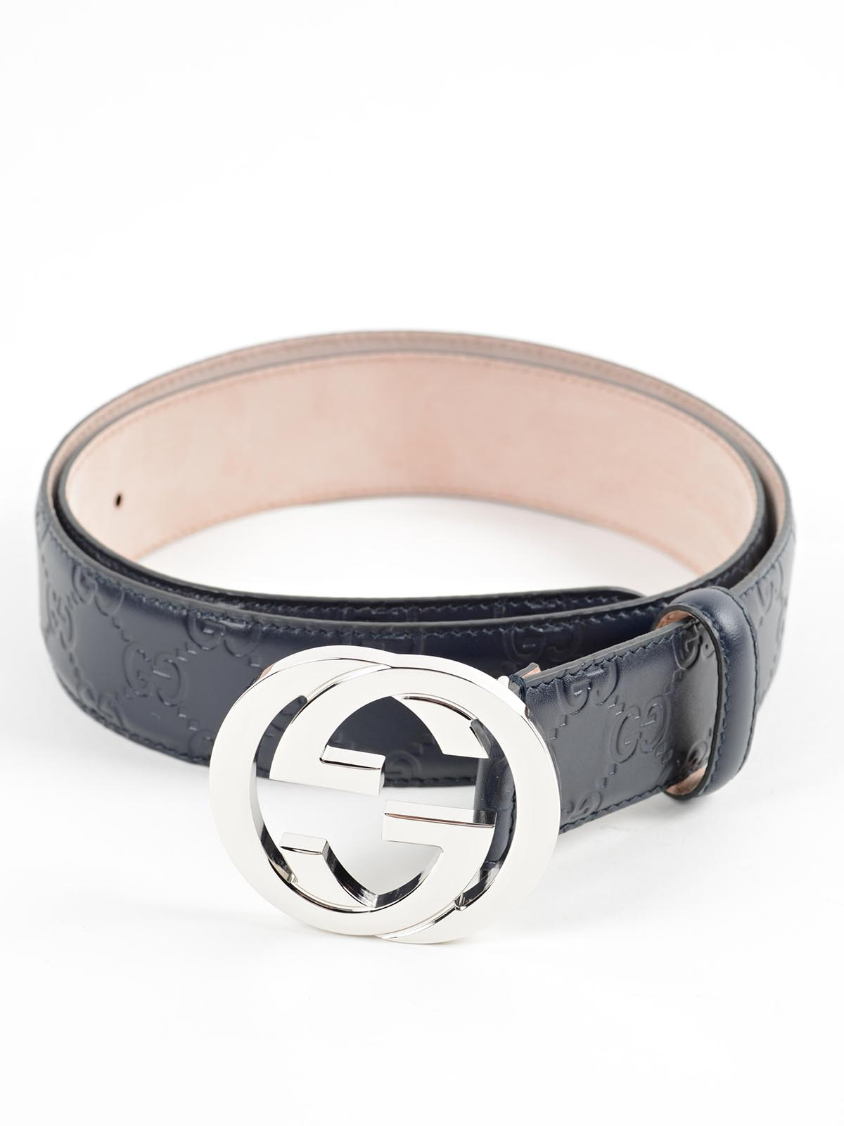 Picture of Gucci | Gg Signature Leather Belt