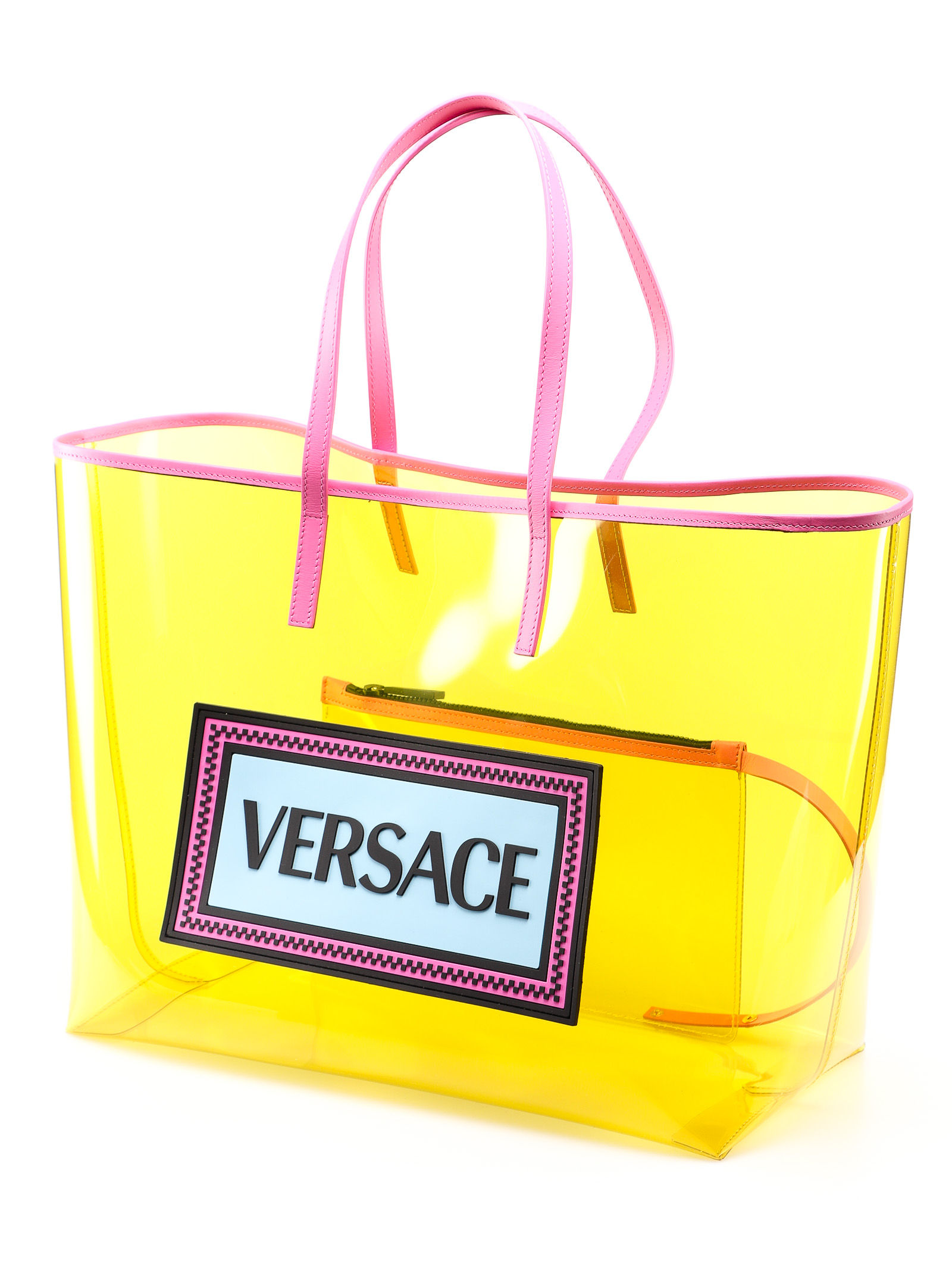 Picture of Versace | Tote Clear Vinyl