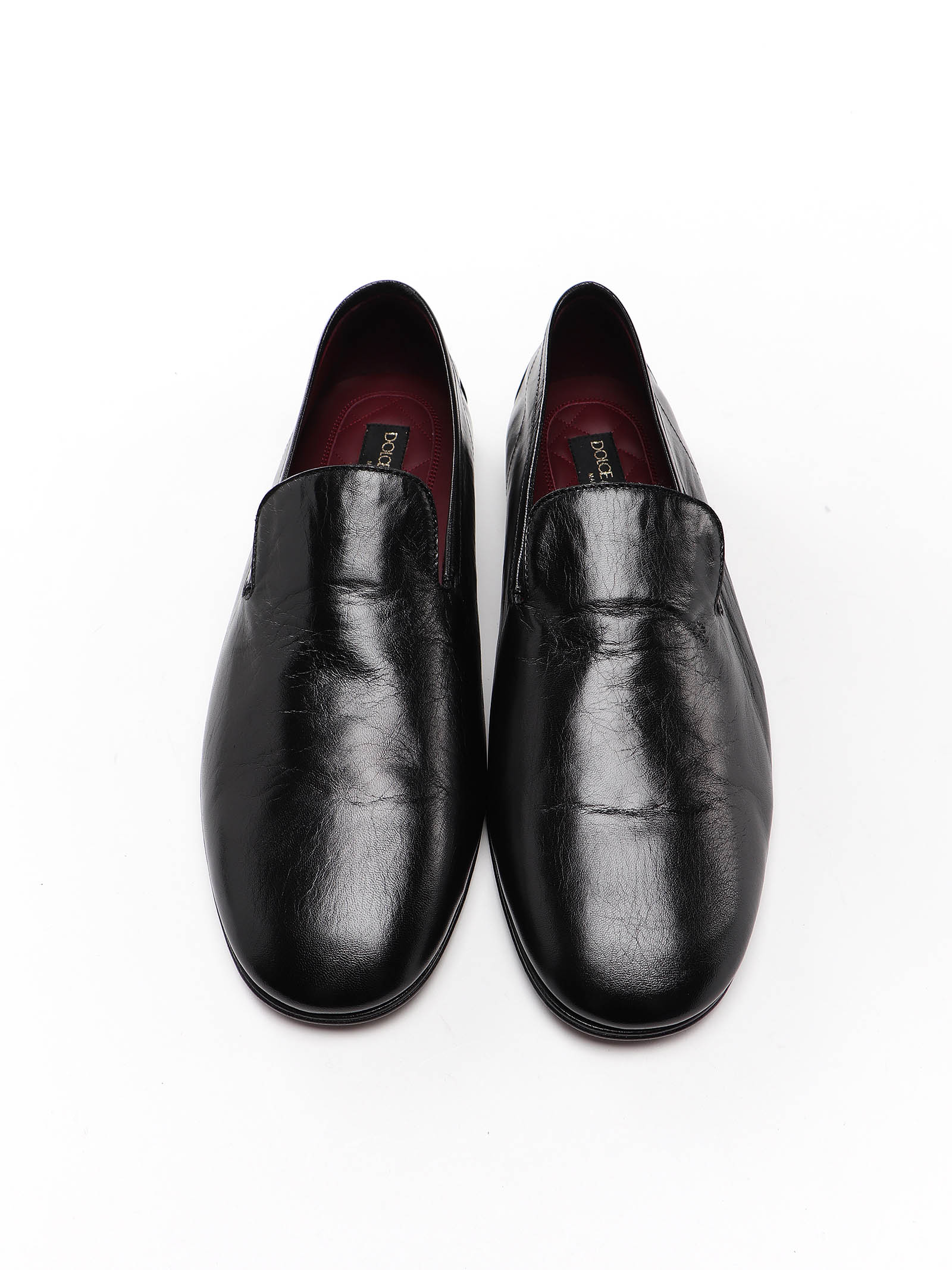 Picture of Dolce & Gabbana | Acapulco Leather Slippers