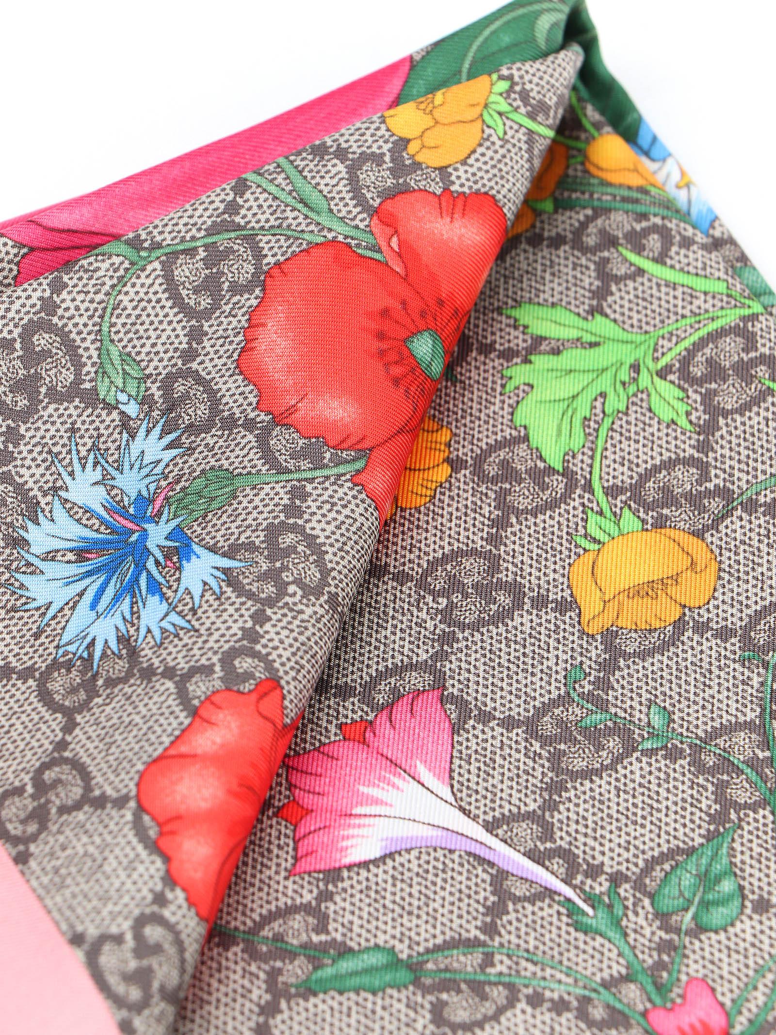 Immagine di Gucci | Special Flora Foulard 90X90