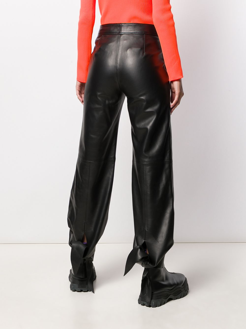 Picture of Off White | Leather Track Pant