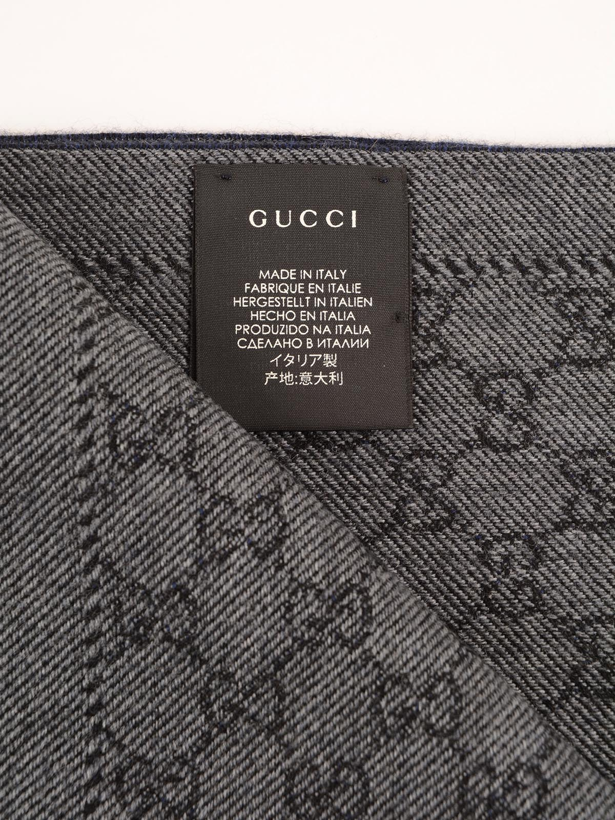 Picture of Gucci   GG Jaquard Lonar Scarf