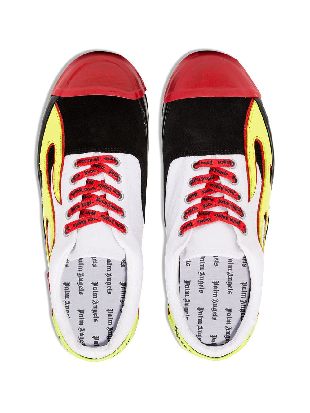 Picture of Palm Angels | Flame Multicolor Sneakers